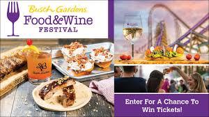 food wine festival at busch gardens