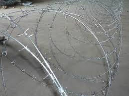 Concertina Barbed Wire For Security Protection Fencing