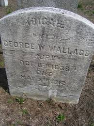 Abigail Wallace (1836-1912) - Find A Grave Memorial