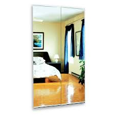 white beveled mirror bifold door lowe