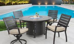 small quincy outdoor patio 5pc dining