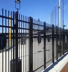 Full Welding Pvc Coated Galvanized Steel Picket Fence For Sale Steel Picket Fence Manufacturer From China 110422694