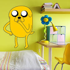 Shop Full Color Adventure Time Jake Dog Cartoon Full Color Wall Decal Sticker Sticker Decal Size 33x45 Overstock 14820272