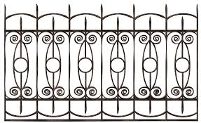 Transparent Ornamental Iron Fence Png Clipart Gallery Yopriceville High Quality Images And Transparent Png Free Clipart