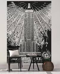Empire State Building Vinyl Wall Decal Sticker Os Aa551 Stickerbrand