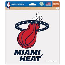 Miami Heat Car Decals Decal Sets Heat Car Decal Lids Com