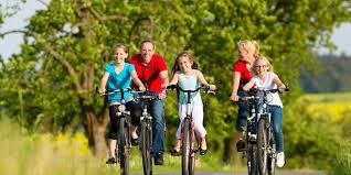 Family Biking – Long Farm Village