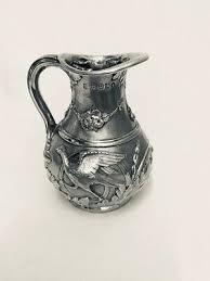 victorian silver cream jug sheffield