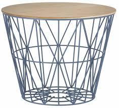 ferm living wire basket top large eiche