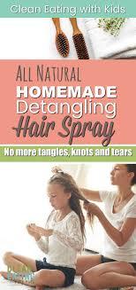 diy homemade hair detangler spray