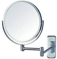 jp7506n 8 inch wall mount makeup mirror