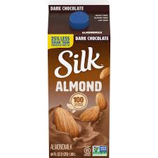 dark chocolate almondmilk half gallon
