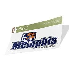 University Of Memphis Tigers Ncaa Vinyl Decal Laptop Water Bottle Car Scrapbook Sticker 000014a Walmart Com Walmart Com