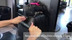 argan oil steam hair straightener