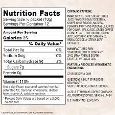 starbucks via instant coffee flavored