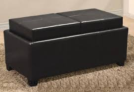 tray top storage coffee table bench