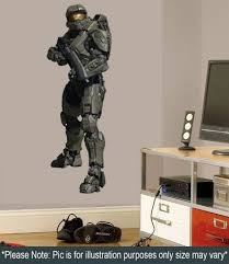 halo master chief wall decal sticker