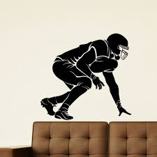 Shop Football Vinyl Wall Art Decal Sticker Overstock 10578084