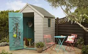 painted garden sheds ideas excellent