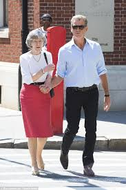 Pierce Brosnan takes his mother Mary May Smith to lunch in NYC ...