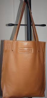 genuine leather bag camel color leather