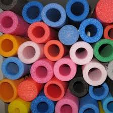 China PE Foam Filled Tube, EPE Pipe, Hollow Foam Tubes Making ...