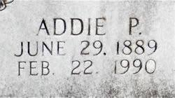 Addie Parker Ables (1889-1990) - Find A Grave Memorial