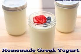 homemade greek yogurt recipe super