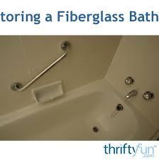 discoloration in a fibergl bathtub