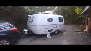 A tour of My 2017 Scamp Travel trailer 13 footer - YouTube