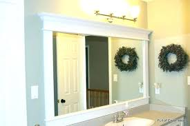 tile bathroom mirror frame myposters co