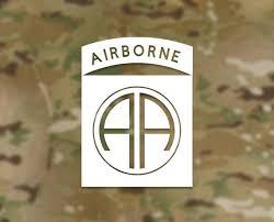 Vinyl Decal Sticker 82nd Airborne Division 82nd Airborne Etsy