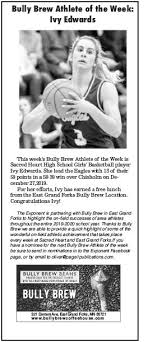 Ivy Edwards was last Week's Bully Brew... - The Exponent - East Grand  Forks, MN | Facebook