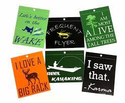 Reel Kayaking Kayak Fishing Vinyl Decal Window Sticker Adventure Roost
