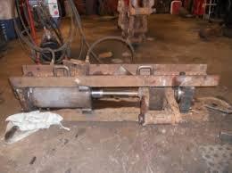 homemade track pin press