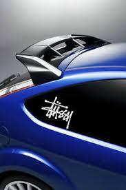 2x Stussy Car Laptop Stickers Decals Window Surf Van Vinyl Vw T4 T5 Ebay