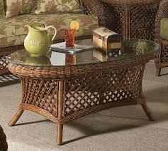 summer nites rattan wicker coffee table