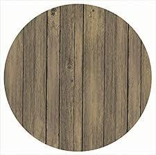 antique brown 80 cm werzalit round