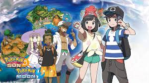 pokemon sun and moon Обои and Фон