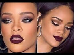 rihanna makeup tutorial makeup