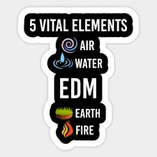 Edm Stickers Teepublic