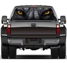 Wolf Rear Window Graphic Decal Truck Suv Van Grey Animal Wild Etsy