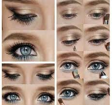 eye makeup for blue eyes piccollage