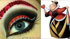 queen of hearts eye makeup tutorial