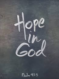 what is the outcome of hoping in god will it bring security and