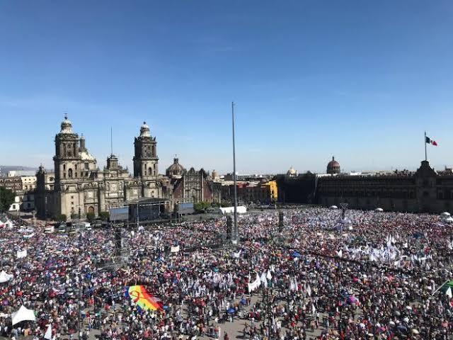"""Resultado de imagen para amlo zocalo 1 de diciembre 2019"""""""