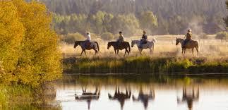 horseback riding visit bend sunriver
