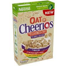 calories in nestlé oat cheerios
