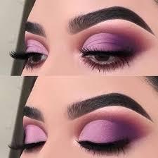purple eyeshadow makeup look saubhaya