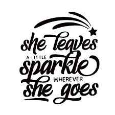 2020 16 13 9cm She Leaves A Little Sparkle Wherever She Goes Vinyl Decals Funny Car Window Bumper Vinyl Decal Sticker From Xymy777 2 01 Dhgate Com